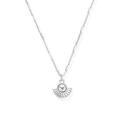 Buy ChloBo Ariella Silver Real Love Necklace
