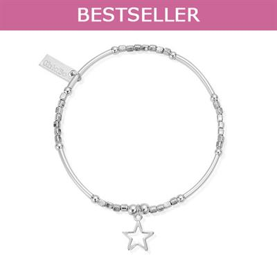 Buy ChloBo Mini Noodle Cube Small Open Star Bracelet