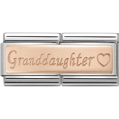 Buy Nomination Rose Gold Grandaughter Double Charm AW19