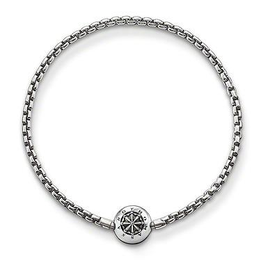Buy Thomas Sabo Karma Beads Oxidized Silver Bracelet 18cm