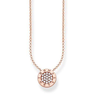 Buy Thomas Sabo Glam & Soul Classic Rose Gold CZ Necklace