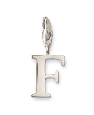 Buy Thomas Sabo Silver Letter F Charm