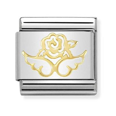 Buy Nomination Gold Angel of Nature Charm