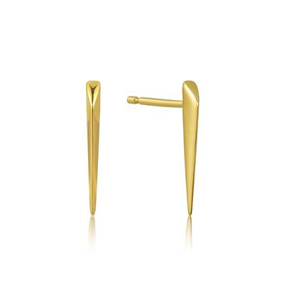 Buy Ania Haie All Ears Gold Spike Earrings