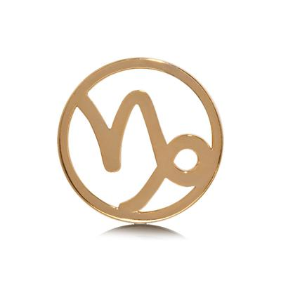 Buy Nikki Lissoni Capricorn Gold Medium Coin