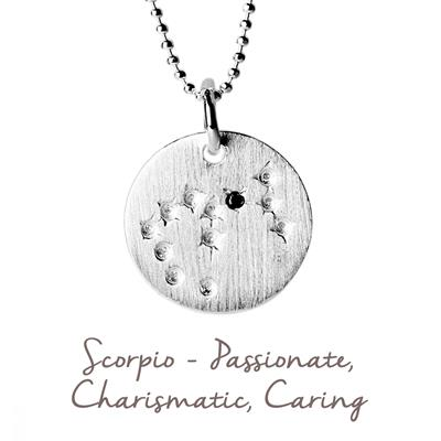 Buy Mantra Scorpio Star Map in Silver