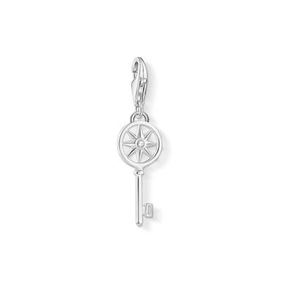 Buy Thomas Sabo Silver Key With Star Pendant