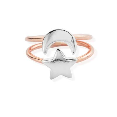 Buy ChloBo Rose Gold Luna Ring Small