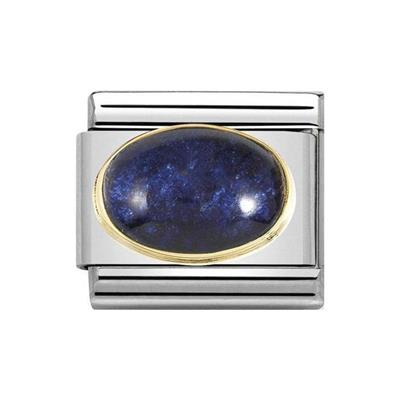 Buy Nomination Midnight Blue Agate Charm