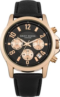 Buy Daisy Dixon Adriana Multidial with Black Leather Strap