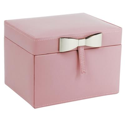 Buy LC Designs Dusky Pink Jewellery Box