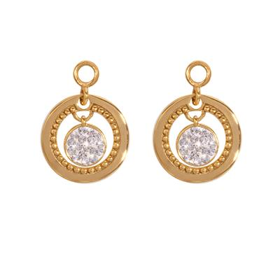 Buy Nikki Lissoni Vintage Dangle Gold Coin Drops