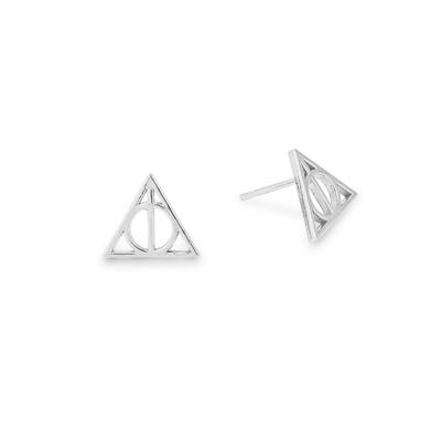 Buy Alex and Ani Harry Potter Deathly Hallows Precious Earrings in Silver
