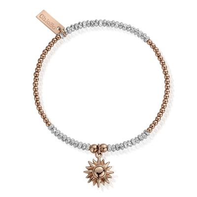Buy ChloBo 'Inner Spirit' Two Tone Sparkle Sun Bracelet