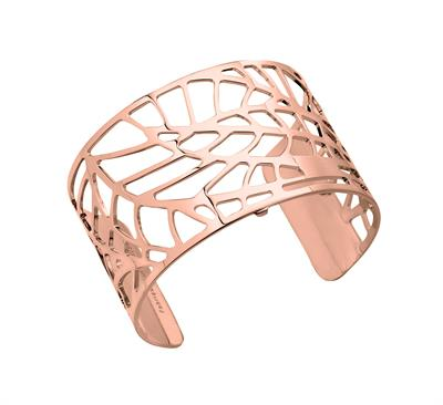 Buy Les Georgettes Wide Rose Gold Fougere Cuff