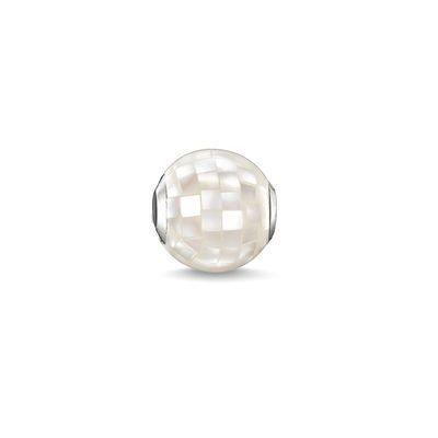 Buy Thomas Sabo White Mother of Pearl Karma Bead