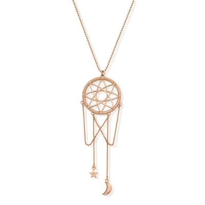 Buy ChloBo Dreamcatcher Necklace in Rose Gold