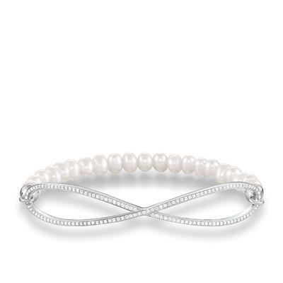 Buy Thomas Sabo Infinity Love Bridge Pearl Bracelet Large