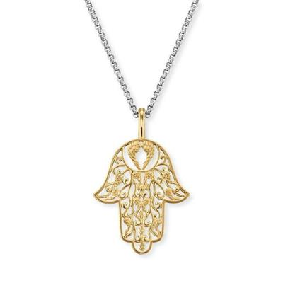 Buy Engelsrufer Gold Hand of Fatima Necklace