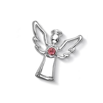 Buy Dower and Hall Silver Pink Tourmaline Guardian Angel Treasure