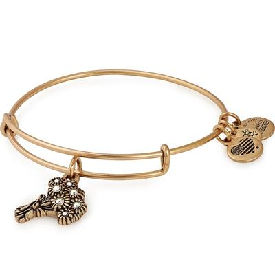 Buy Alex and Ani I Pick You Swarovski Bridesmaid Bangle in Rafaelian Gold