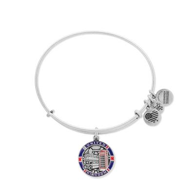 Buy Alex and Ani UK Exclusive, United Kingdom Bangle - Rafaelian Silver