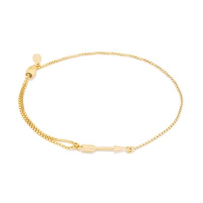 Buy Alex and Ani Arrow Precious Pull Chain Bracelet in Gold