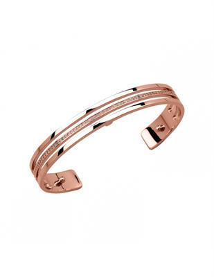 Buy Les Georgettes Thin Rose Gold CZ Parallel Cuff