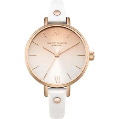 Buy Daisy Dixon Hattie White Ombre Watch