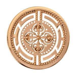 Buy Nikki Lissoni Gold Roman Maze Coin 33mm