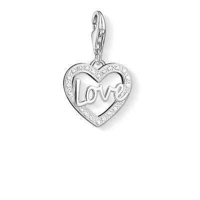 Buy Thomas Sabo Love Silver Heart Charm