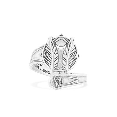 Buy Alex and Ani Godspeed Spoon Ring in Silver