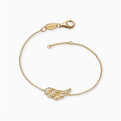 Buy Engelsrufer Gold CZ Angel Wing Bracelet