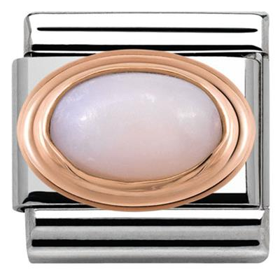 Buy Nomination Rose Gold Pink Opal Charm