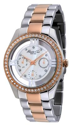 Buy Kenneth Cole Ladies Two-tone Multifunction Watch