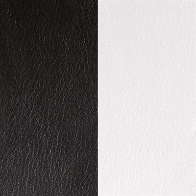 Buy Les Georgettes Wide Black / White Leather