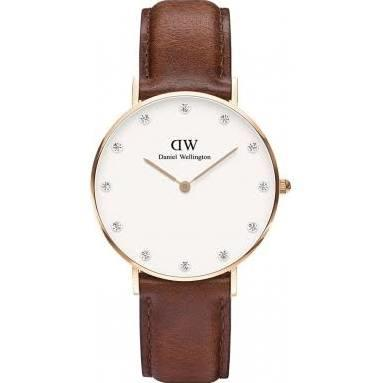 Buy Daniel Wellington Ladies Classy St Mawes Watch in Rose Gold