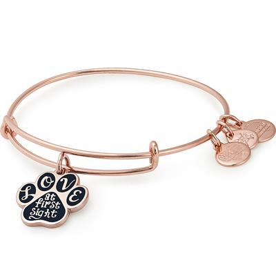 Buy Alex and Ani Love At First Sight Paw Bangle