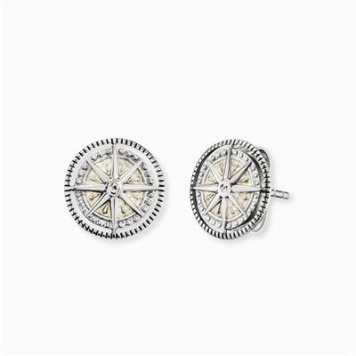 Buy Engelsrufer Wind Rose Stud Earrings