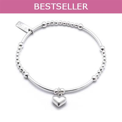 Buy ChloBo Cute Mini Puffed Heart Bracelet