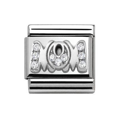 Buy Nomination Silver CZ MOM