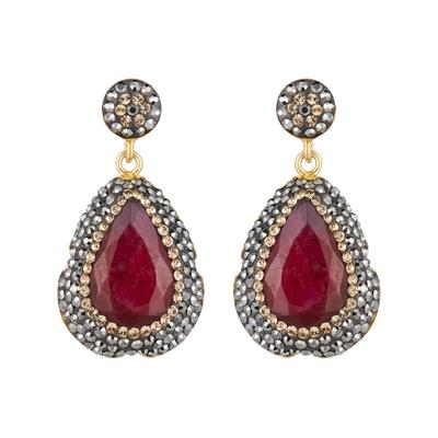 Buy Soru Ruby Earrings