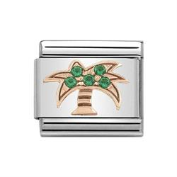 Buy Nomination Classic Rose Gold Symbols Palm Tree Charm