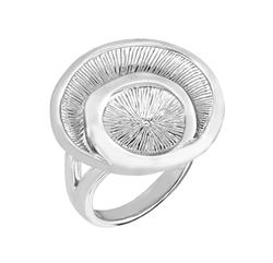 Buy JORGE REVILLA Silver Siroco Ring - M