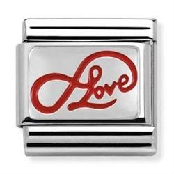 Red Endless Love Charm