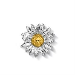 18ct Gold Vermeil Large Daisy Treasure
