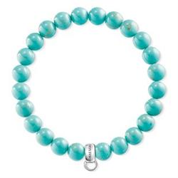 Buy Thomas Sabo Turquoise XL Charm Club Bracelet