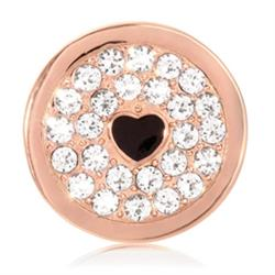 Rose Gold You Make My Heart Sparkle Coin 23mm