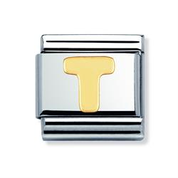 Buy Nomination Gold Letter T