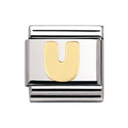 Buy Nomination Gold Letter U